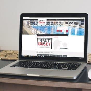 Site internet Communauté de Communes Haut-Bugey