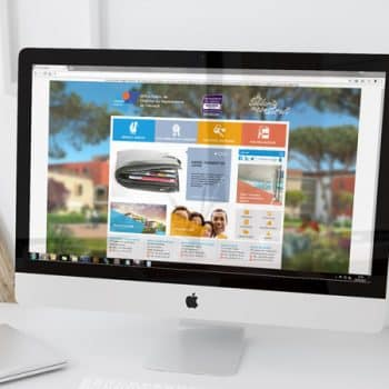 Site internet d'Hérault Habitat