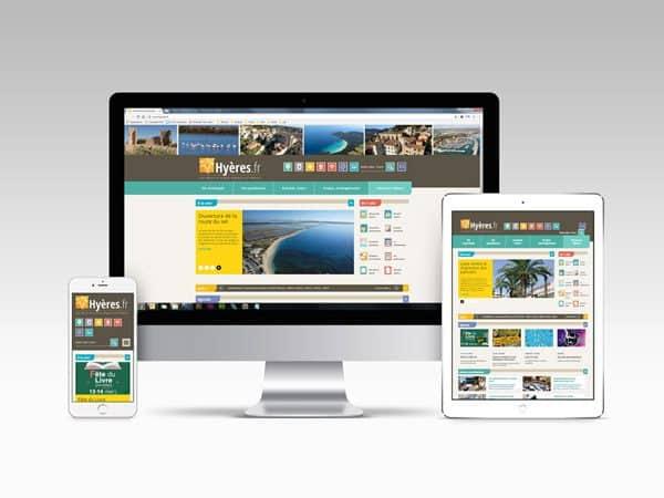 Site internet de la ville de Hyères