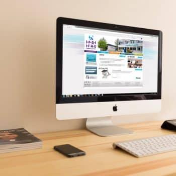 Site internet de l'IFSI d'Argenteuil