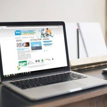 Site internet de l'IFSI Paray-le-Monial