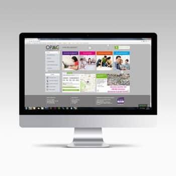 Site internet de l'OPAC 36