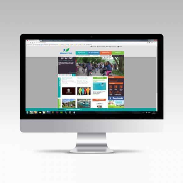 Site internet de Villeneuve d'Ascq