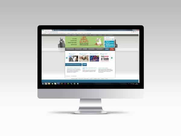 Site internet de Villeurbanne