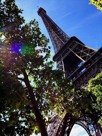 Le droit d'auteur et les œuvres d'art - La Tour Eiffel