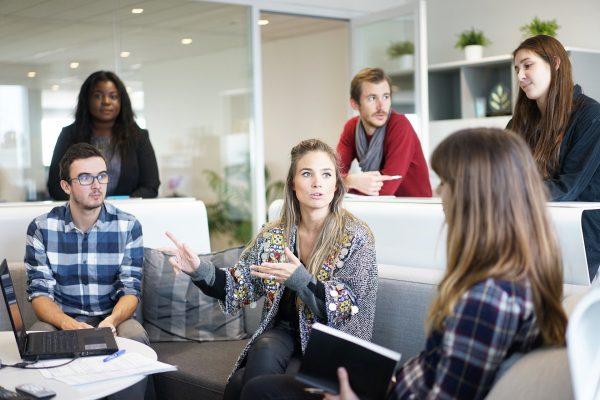 Jargon webmarketing réunion de travail
