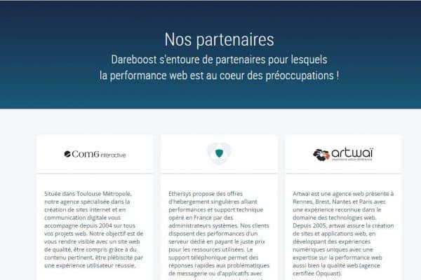 partenariat dareboost com6 interactive